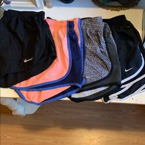 4 pairs of Nike Dri- Fit Women's Shorts
